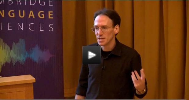 Professor Simon Fisher (Max Planck Institute for Psycholinguistics) presenting at the 2016 Symposium