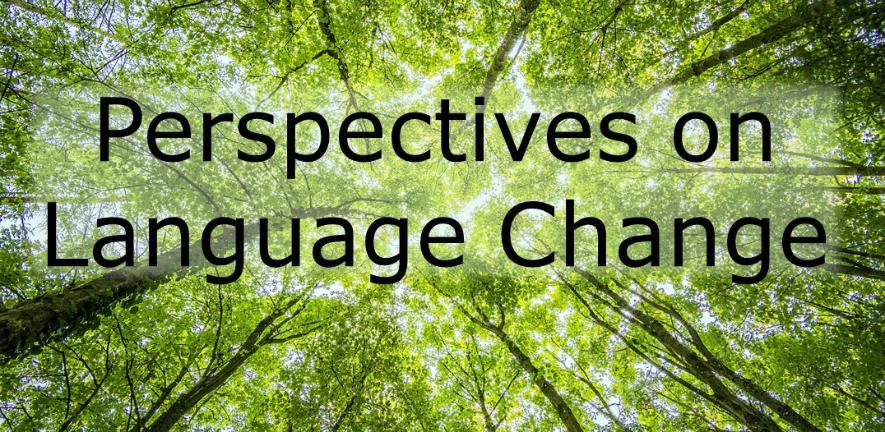 Perspectives on Language Change
