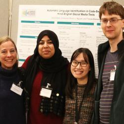 Dr Theresa Biberauer, Sana Kidwai, Li Nguyen & Christopher Bryant Annual Symposium 2019