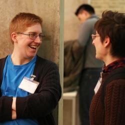 Networking at Language Sciences Annual Symposium 2019