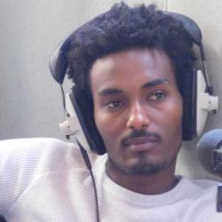 Hiraeth participant in radio studio