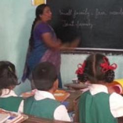 Classroom in India