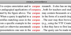 Corpus Concordance 250x125px
