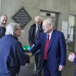 Chancellor's visit