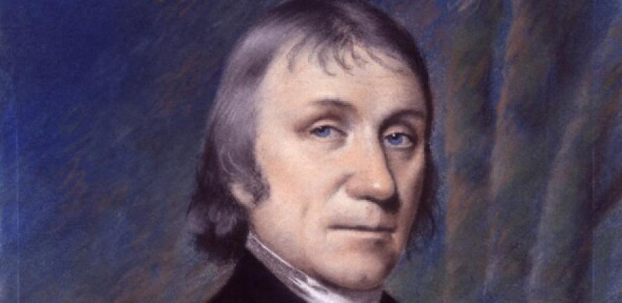 painting of Joseph Priestley: theologian, scientist, clergyman and stammerer, about 1797 from National Portrait Gallery, London