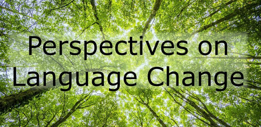 Perspectives on Language Change